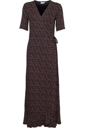 Saint Tropez Minasz Maxi Wrap Dress Dresses Everyday Dresses Brun