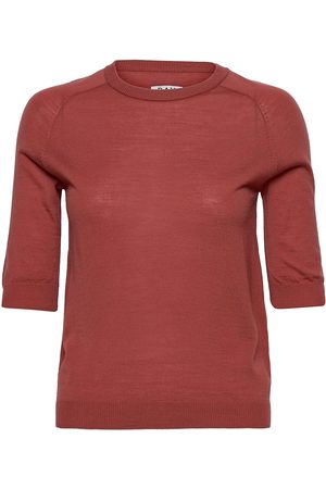DAY Birger et Mikkelsen Day Whitney T-shirts & Tops Knitted T-shirts/tops Rød