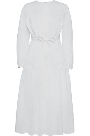 Ivy & Oak Dame Hverdagskjoler - Corded Shirt Dress Midi Lenght Knelang Kjole