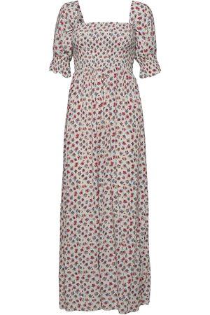 Notes Du Nord Violet Maxi Dress Dresses Everyday Dresses Hvit