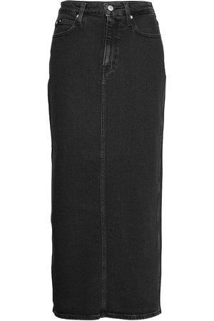 Calvin Klein Jeans Maxi Skirt Knelangt Skjørt