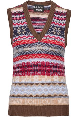 Moschino Dame Vester - Sweater Vests Knitted Vests