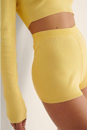 NA-KD Dame Shorts - Ribbet Minishorts