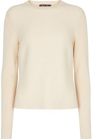 Loro Piana Dame Strikkegensere - Visconti cashmere sweater