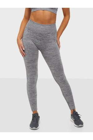 ICANIWILL Dame Treningstights - Willow Seamless Tights Grey Melange