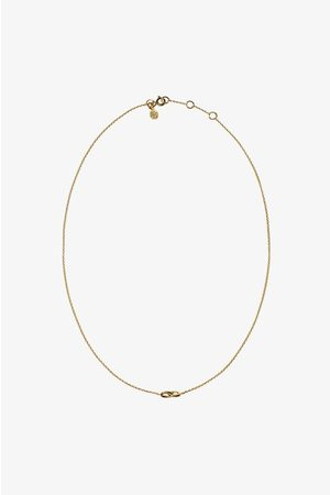 ANINE BING Dame Halskjeder - Double Link Necklace in Gold