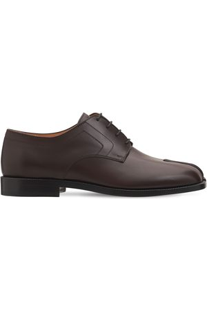 Maison Margiela 20mm Tabi Leather Lace-up Shoes