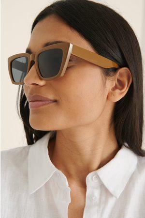 NA-KD Dame Solbriller - Basic Firkantede Solbriller