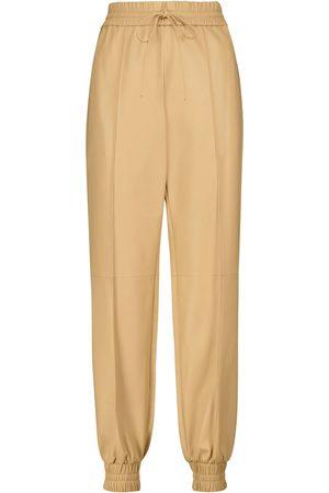 Jil Sander Ankle-zip leather pants