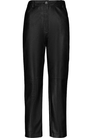 Stella McCartney Hailey faux leather high-rise pants