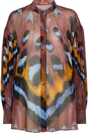 Altuzarra Dame Bluser - Patsy printed georgette blouse