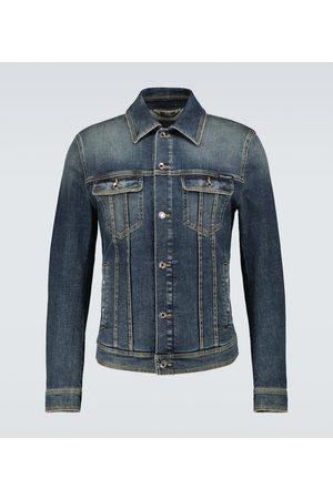 Dolce & Gabbana Herre Denimjakker - Stretch-denim jacket