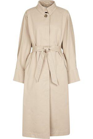 Isabel Marant Arlo cotton trench coat