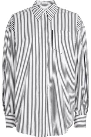 Brunello Cucinelli Exclusive to Mytheresa – Striped stretch-cotton shirt