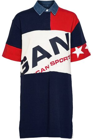 GANT Dame Kjoler - D2. Retro Shield Rugger Dress Dresses T-shirt Dresses