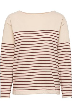Closed Dame Langermede - Womens Top T-shirts & Tops Long-sleeved Rosa