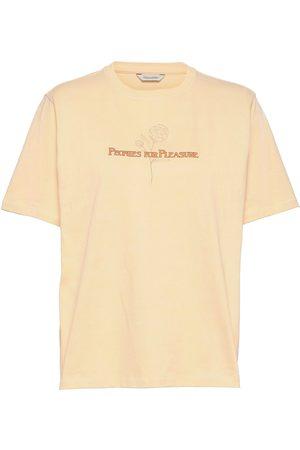 Holzweiler Kjerag Tee T-shirts & Tops Short-sleeved Creme