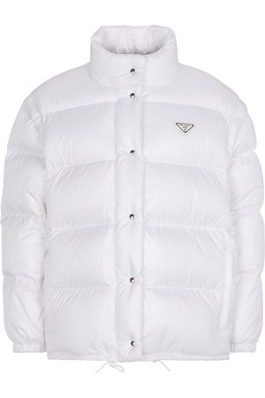 Prada Dame Dunjakker - Quilted nylon down jacket