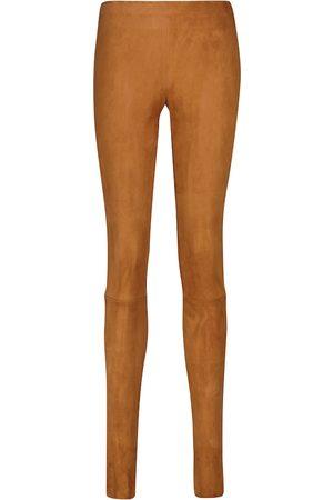 STOULS Carolyn suede leggings