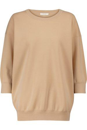 The Row Cairota merino wool sweater