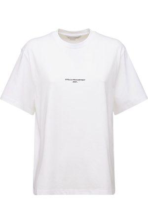 Stella McCartney Logo Organic Cotton Jersey T-shirt