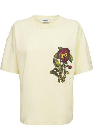 Kenzo Flower Print Organic Cotton T-shirt