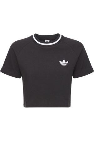 adidas Dame Kortermede - Cropped T-shirt
