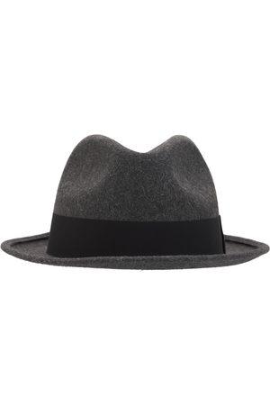 Saint Laurent Herre Hatter - Fedora Hat W/ Grosgrain Ribbon