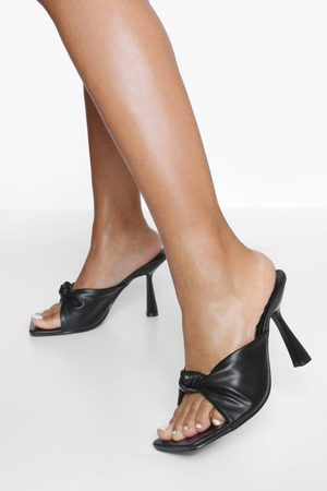 Boohoo Dame Flip flops - Bow Knot Mule
