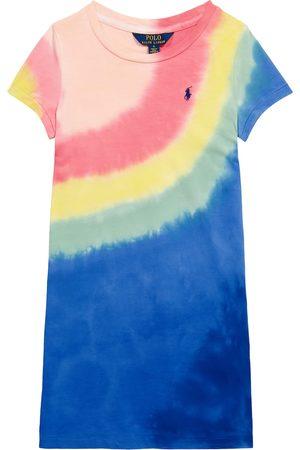 Ralph Lauren Tie-dye stretch-cotton dress