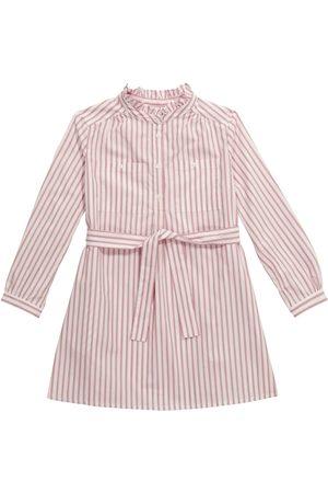 BONPOINT Striped buttoned cotton dress