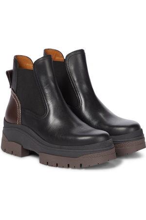 Chloé Dame Skoletter - Cassidie leather ankle boots