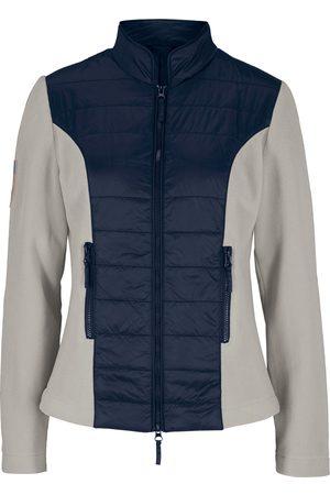 bonprix Vattert jakke med fleece