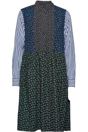 WoodWood Grace Block Print Dress Dresses Shirt Dresses