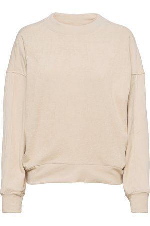 Varley Lyle Top Sweat-shirt Genser Creme