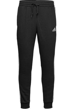 adidas Essentials Fleece Tapered Cuff 3-Stripes Pants Joggebukser Pysjbukser