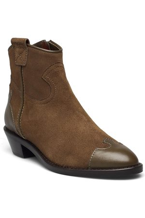 See by Chloé Cowboy Shoes Boots Ankle Boots Ankle Boot - Flat Svart