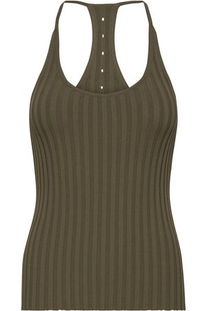 Helmut Lang Slash Tank.Stretch V T-shirts & Tops Sleeveless