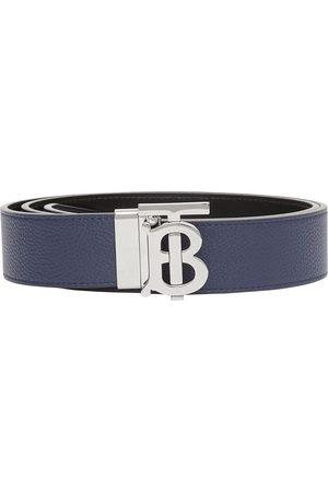 Burberry Herre Belter - Reversible logo-buckle belt