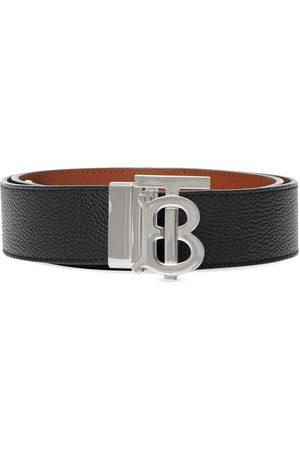 Burberry Herre Belter - Monogram detail buckled belt