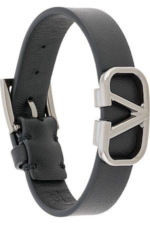 Valentino Garavani VLOGO leather bracelet