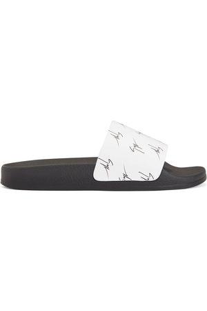 Giuseppe Zanotti Dame Flip flops - Brett signature-logo slides