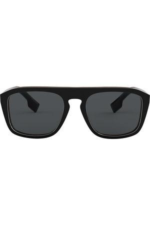 Burberry Eyewear Herre Solbriller - Oversized square frame sunglasses