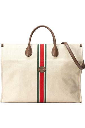 Gucci Herre Tote bags - Web Stripe tote bag