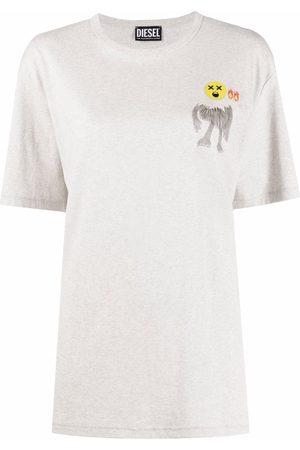 Diesel Graphic-print short-sleeved T-shirt