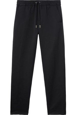 Burberry Linen-cotton track pants