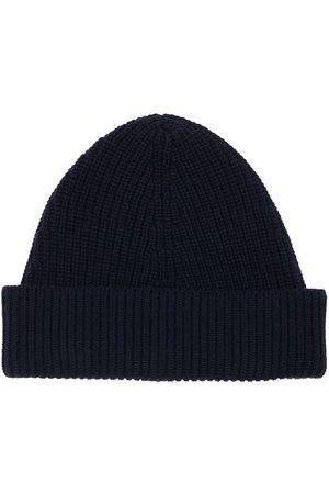 Maison Margiela Herre Hatter - Cotton & Wool Blend Beanie Hat