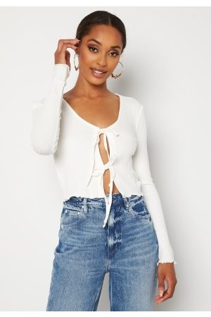 ONLY Dame Crop - Jeanett Life L/S Cardigan Box Top M