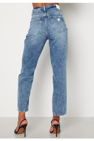 Guess Dame Stretch - Mom Jeans Light Cactus 25