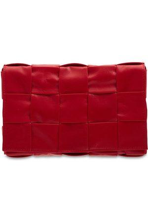 Bottega Veneta Intreccio Leather Crossbody Bag